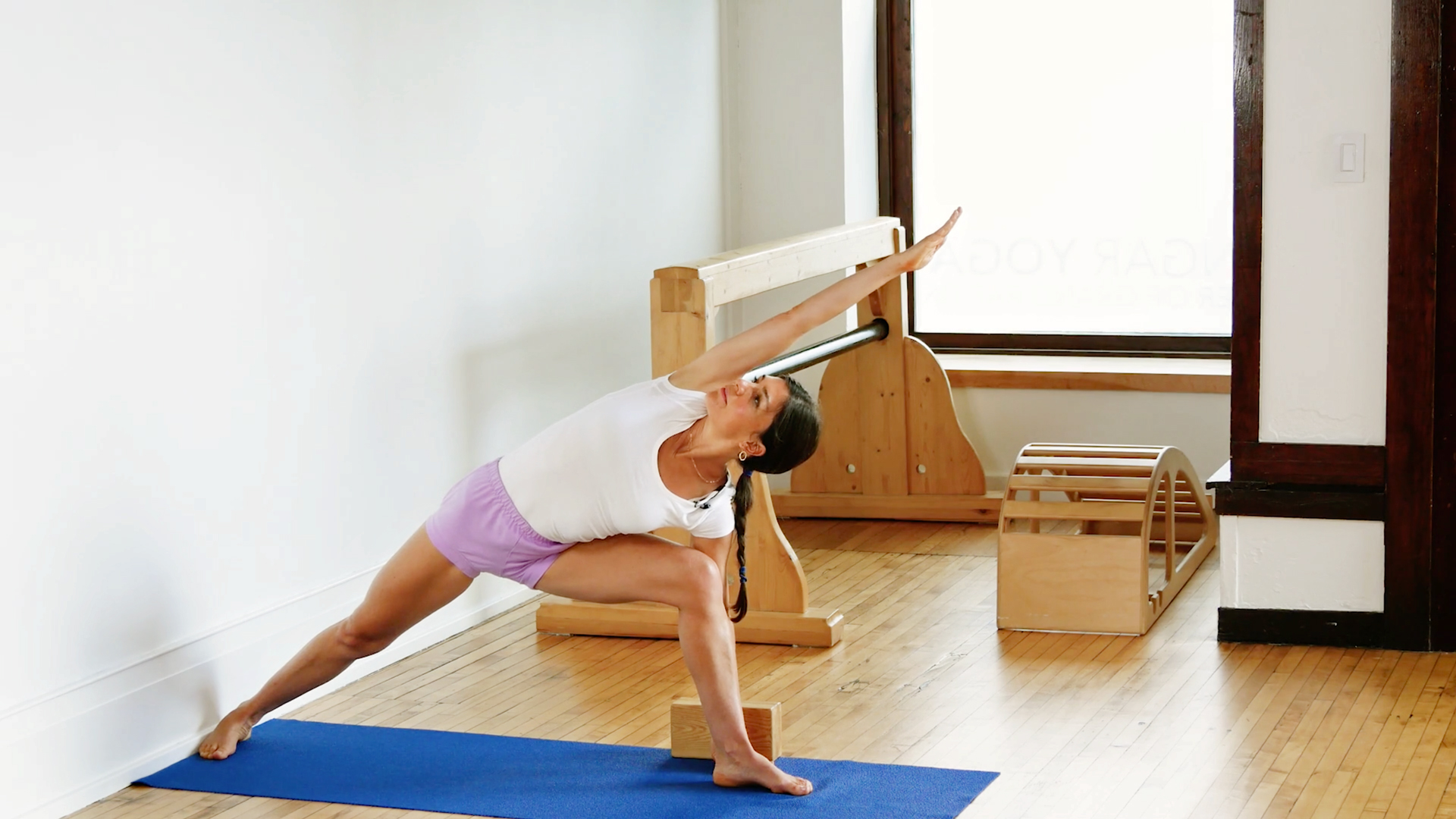 Iyengar Yoga and the Practice of Standing Poses (Class 2)