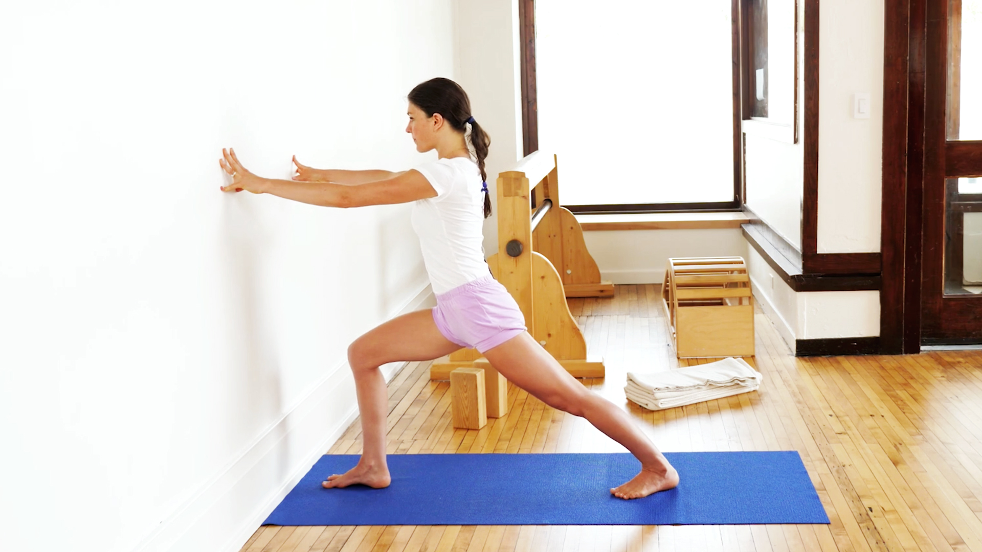 Iyengar Yoga and the Practice of Standing Poses (Class 1)