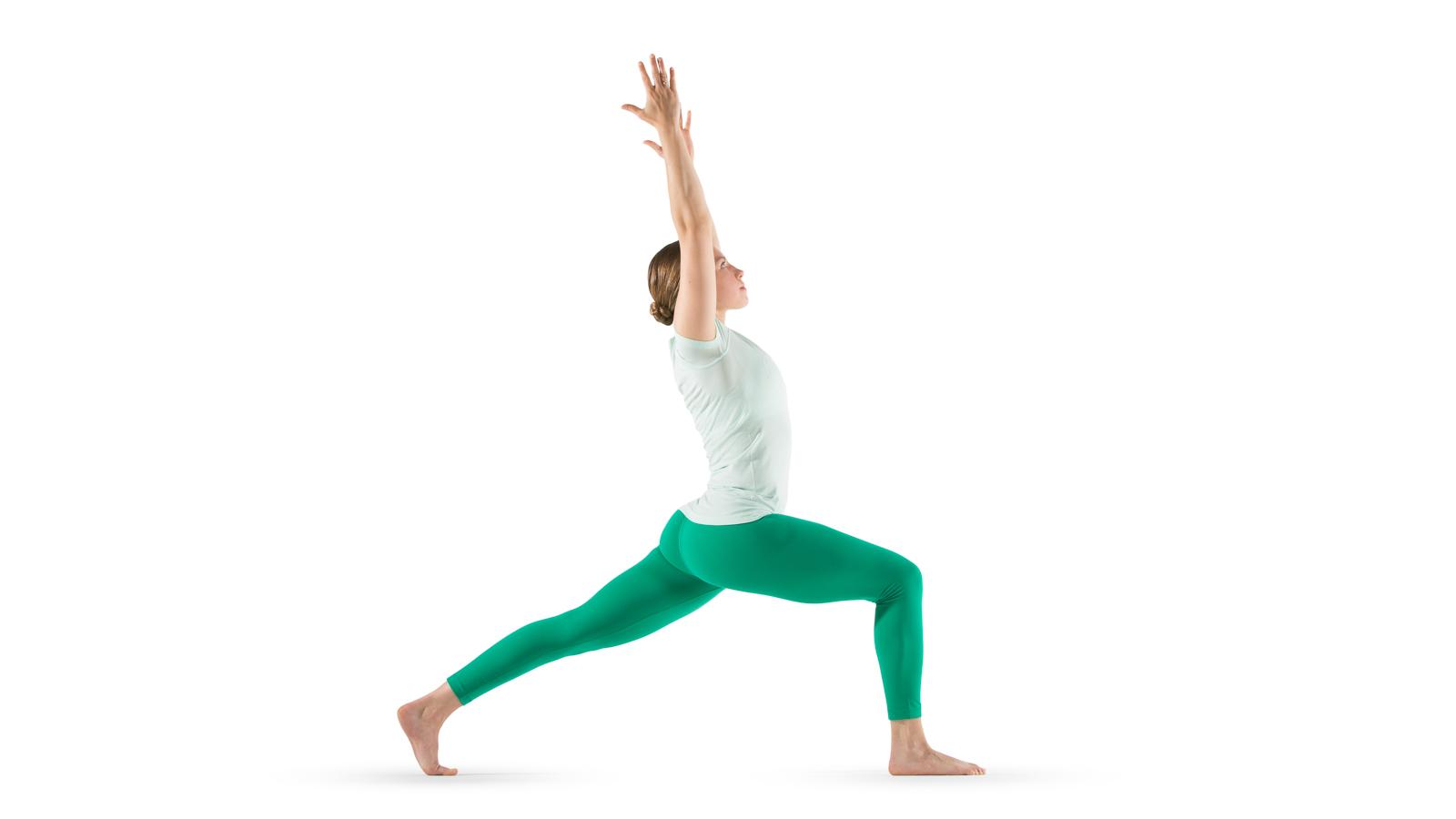 Crescent Lunge Yoga International