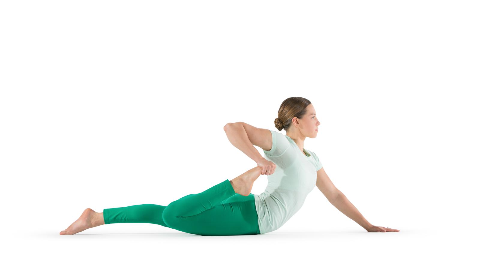 half frog pose yoga international