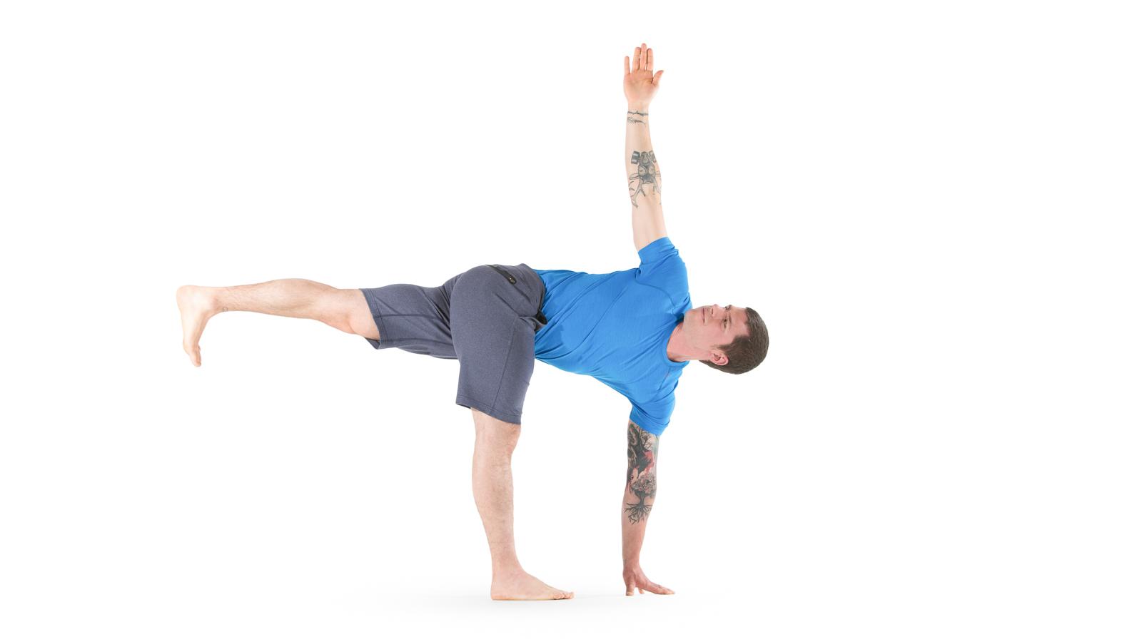 Revolved Half Moon   Yoga International