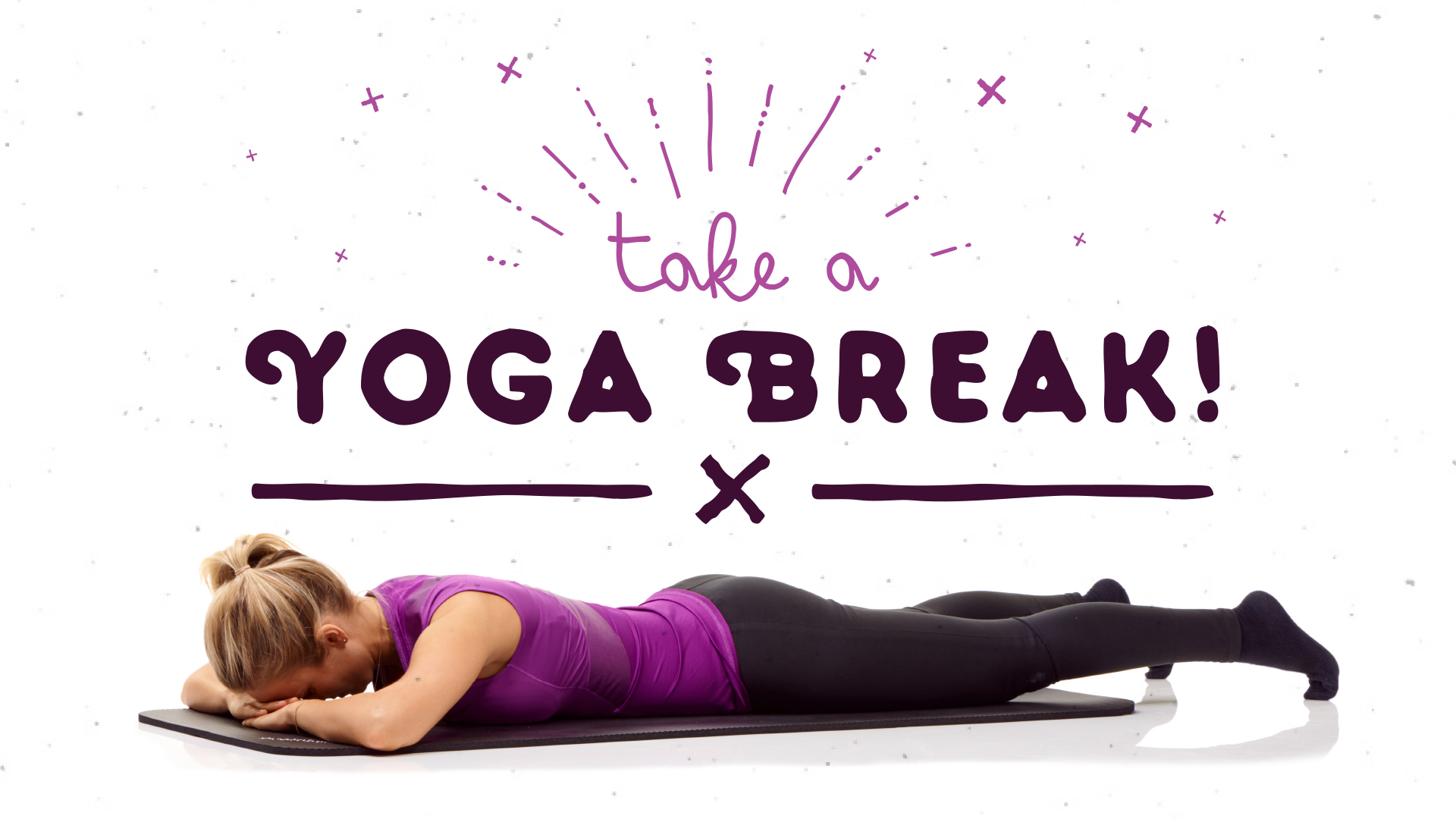 Take a Yoga Break: A Simple, Stress-Busting Pose