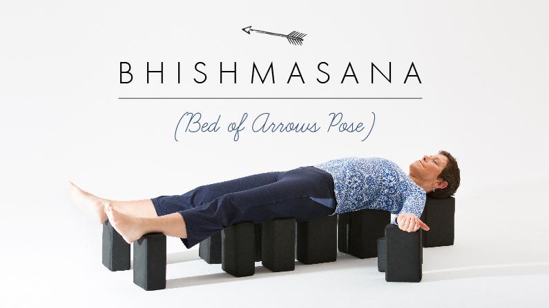 Bhishmasana Bed Of Arrows Pose Yoga International