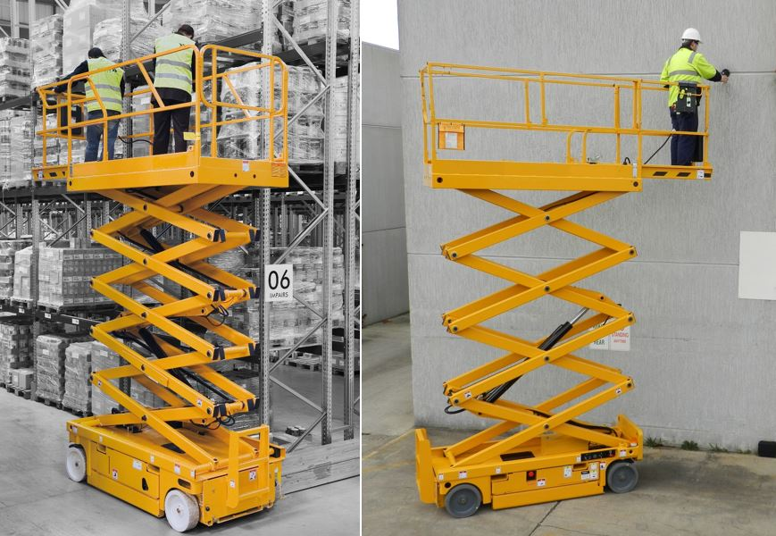 Electric Scissor Lift Batteries