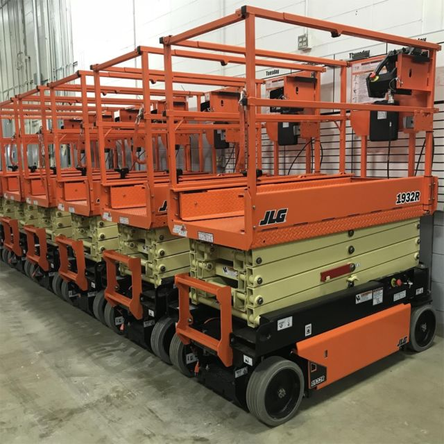 Boom Lift Rental On Its Own Trailer
