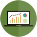 analytics ecommerce tracking icon