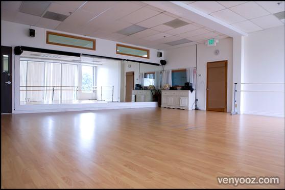 Charlie Chaplin Studio At Dance Studio No 1 Los Angeles