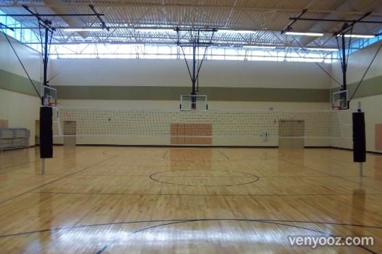 Gymnasium At Marsh Creek Community Center Raleigh Nc