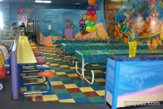 Indoor Playground At Under The Sea Woodland Hills Ca