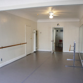 Marley Dance Room at White Hall Arts Academy