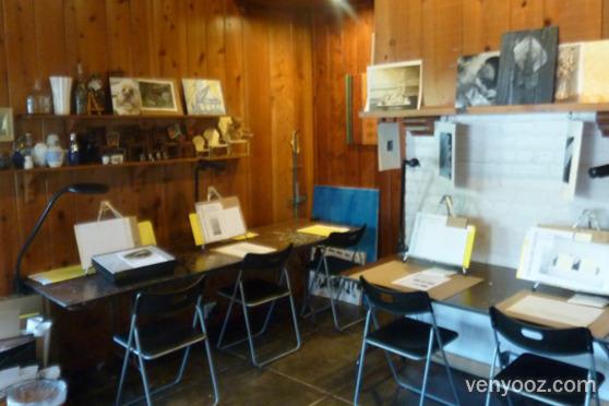 Unit B Art Studio Piano Room And Zen Garden At Pastimes