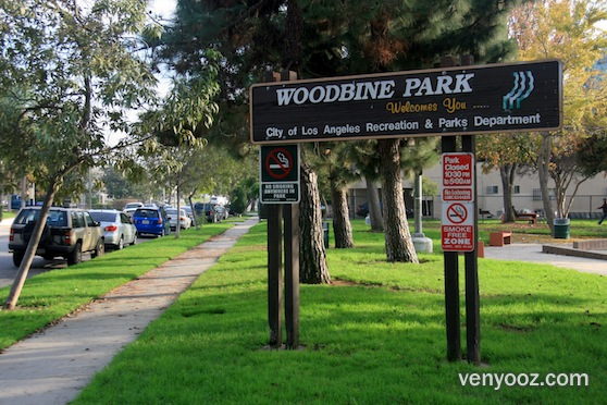 Bbq Pits Amp Picnic Tables At Woodbine Park Los Angeles