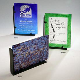 Recycled Alexandrite Rectangle Award