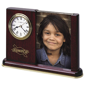 Portrait Caddy Desk Clock