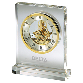 Prestige Desk Clock