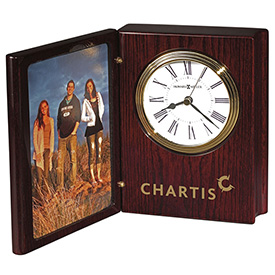 Portrait Book II Desk Clock