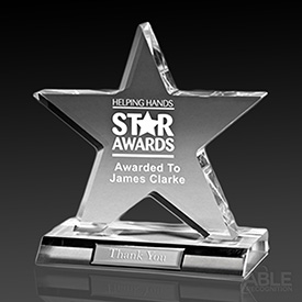 Acrylic Large Star Award