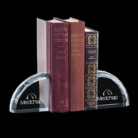 Ridgemount Crystal Bookends (Set of 2)