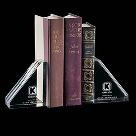 Normandale Crystal Bookends (Set of 2)