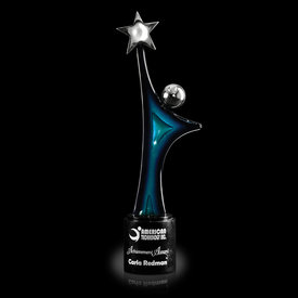 Star Gazer Art Glass Award