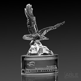 Soaring Eagle Crystal Award