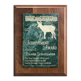 Determination Plaque