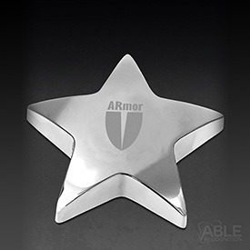 Starbright II Paperweight with Pouch