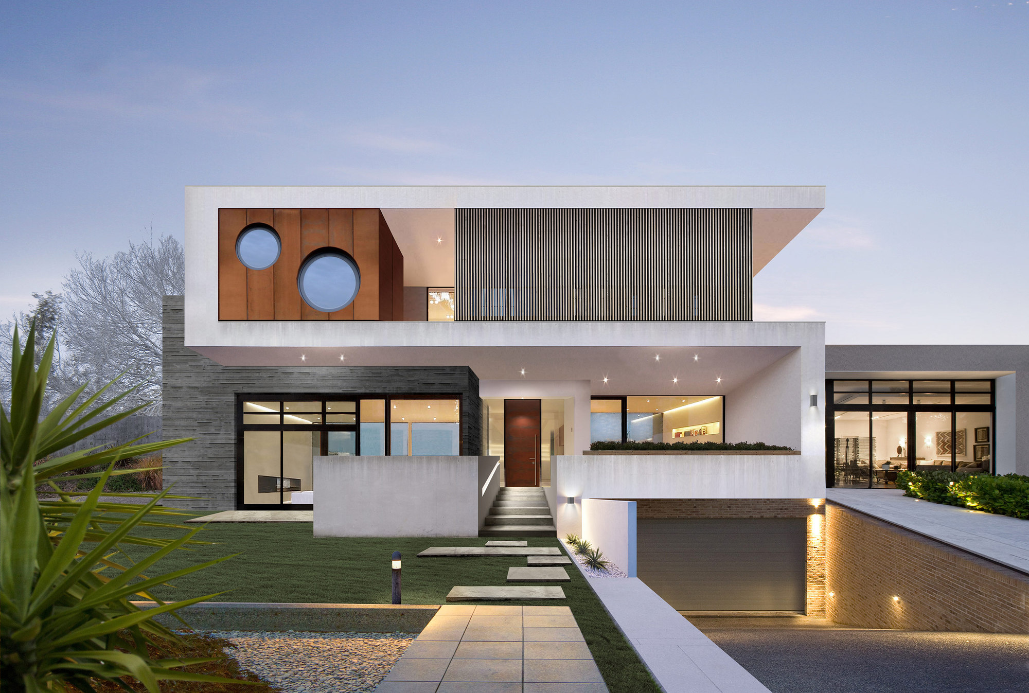 The Two Rock House Wolf Architects Archdaily
