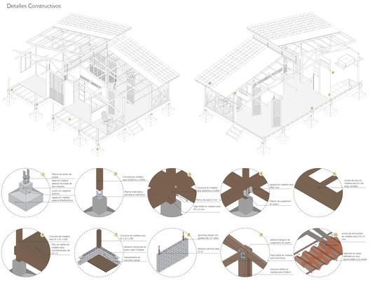 Modelo de asentamiento rural integral sostenible en Yopal Casanare. Image © Daniel Vanegas + Tatiana Cantor
