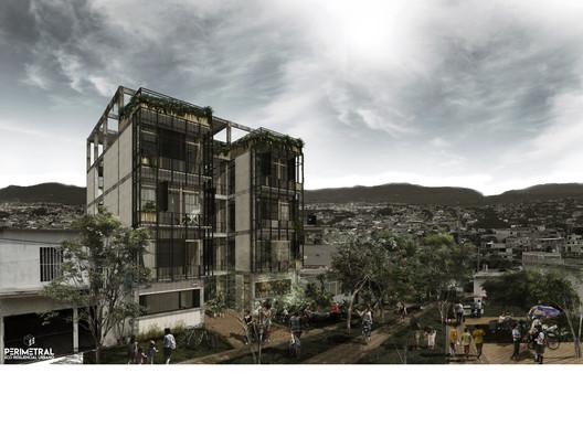 Perimetral Ecoresiliencial Urbano. Image © Eliezer Torres