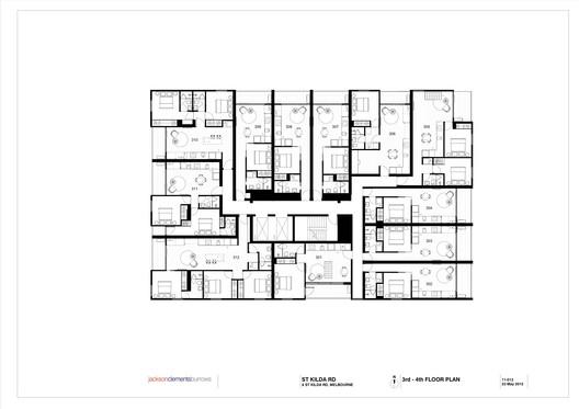 3rd / 4th floor plan