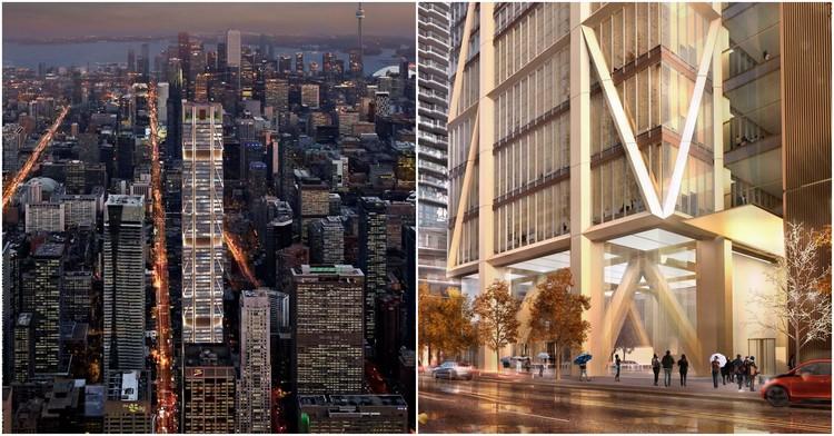 Comienza la construcción del futuro edificio más alto de Canadá diseñado por Foster + Partners, Cortesía de Foster + Partners