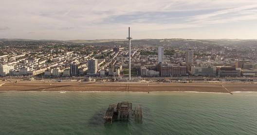 British Airways i360 Tower in Brighton and Hove. Image © Visual Air