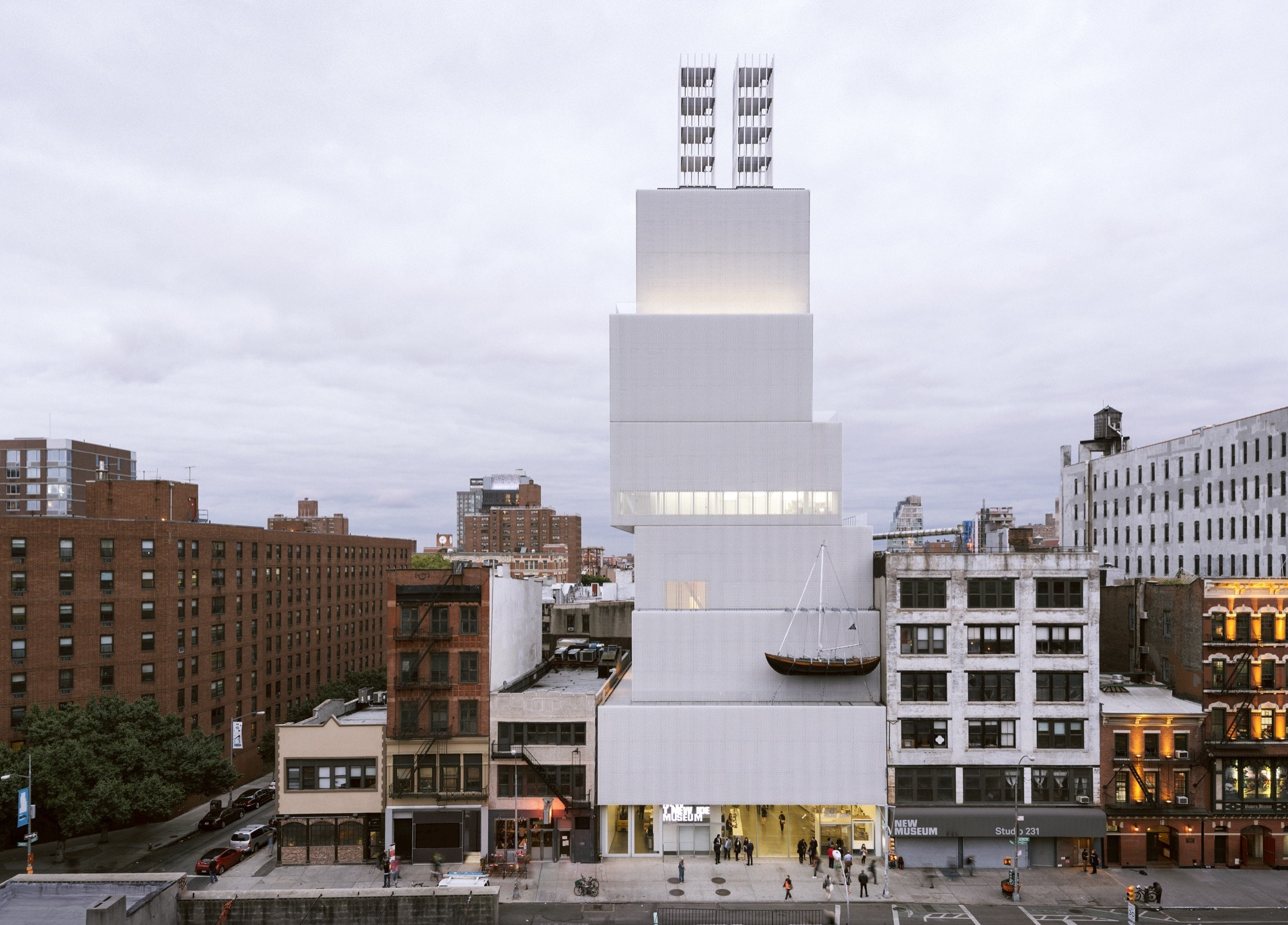 OMA / Shohei Shigematsu and Rem Koolhaas Selected to Design New Museum Expansion in New York