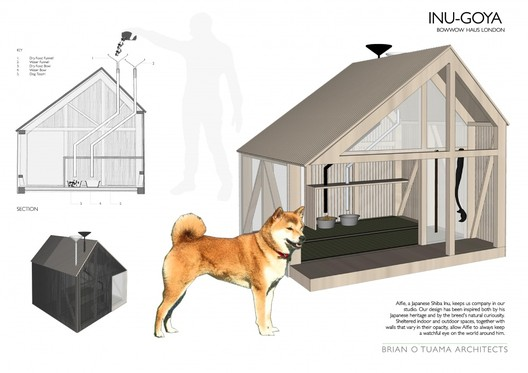 Brian O'Tuama Architects - INU-GOYA. Image via BowWow Haus London