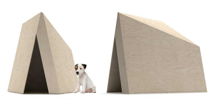 Zaha hadid architects among 80 designers to create dog for Architecture and design dog house