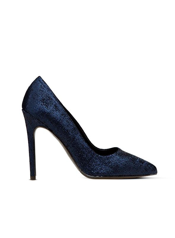 Decolletè glitter blue ALBANO | Decollete' | 1150NIGHTBLU
