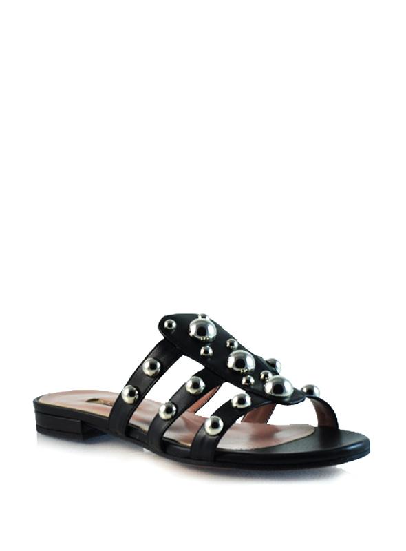 sandalo con borchie ALBANO | Sandali | 2648NERO