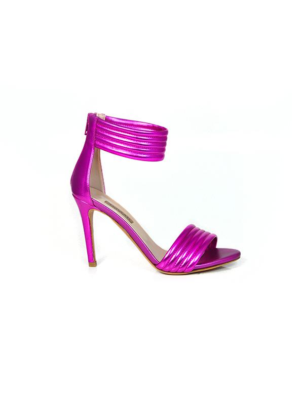 Sandalo fuxia metallizzato ALBANO | Sandali | 2004SOFTMETALFUXIA