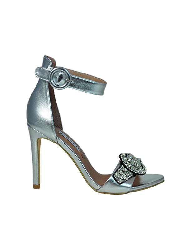 Sandalo argento con strass ALBANO | Sandali | 2126SOFTARGENTO