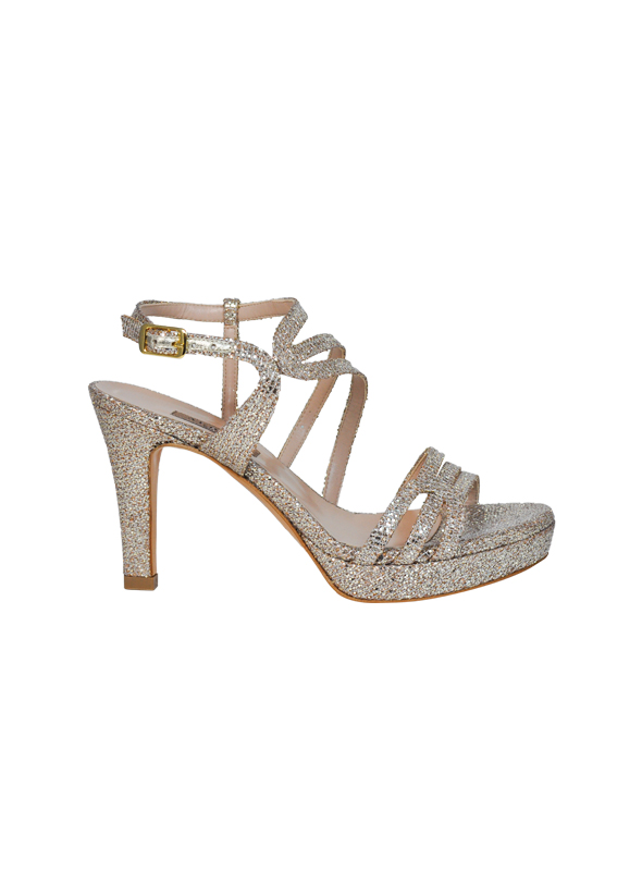 Sandalo glitter oro ALBANO   Sandali   2209PARTYORO