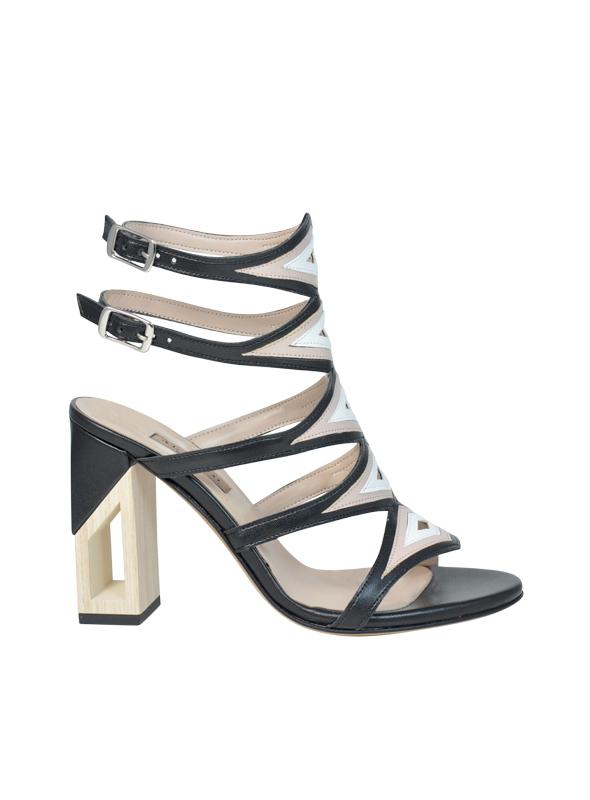 Sandalo accollato ALBANO | Sandali | 2236SOFTNERO