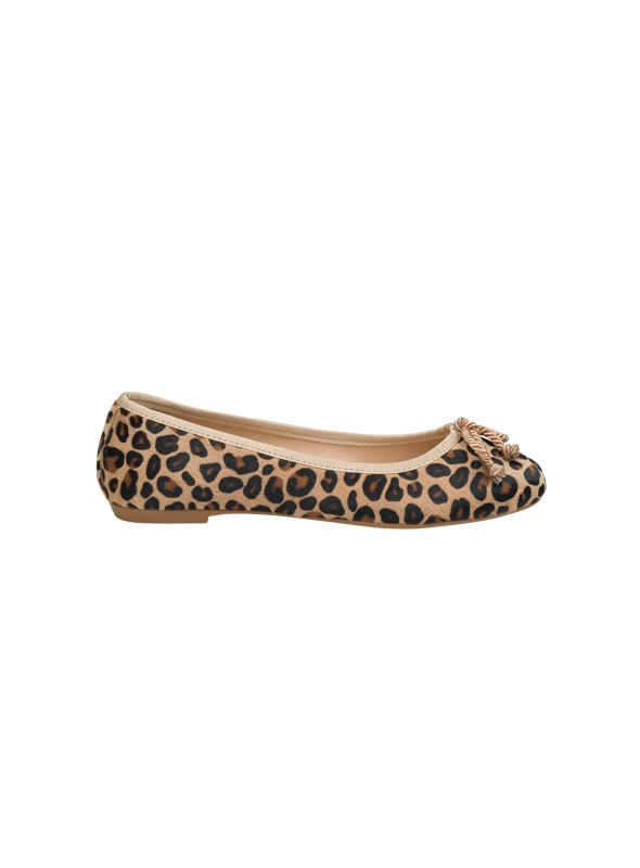 Ballerina leopardata ALBANO | Ballerine | 4065CAVALLINO/BEIGE