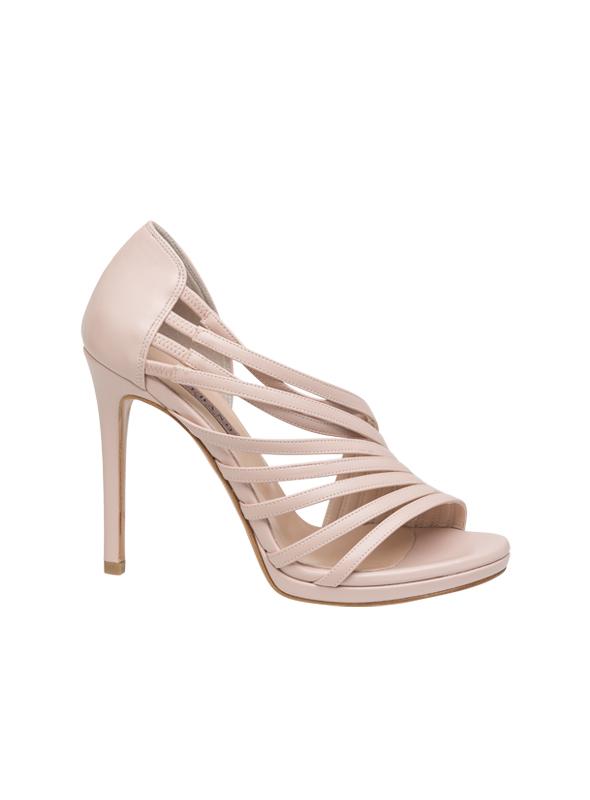 Sandalo accollato cipria ALBANO | Sandali | 4140SOFTCIPRIA