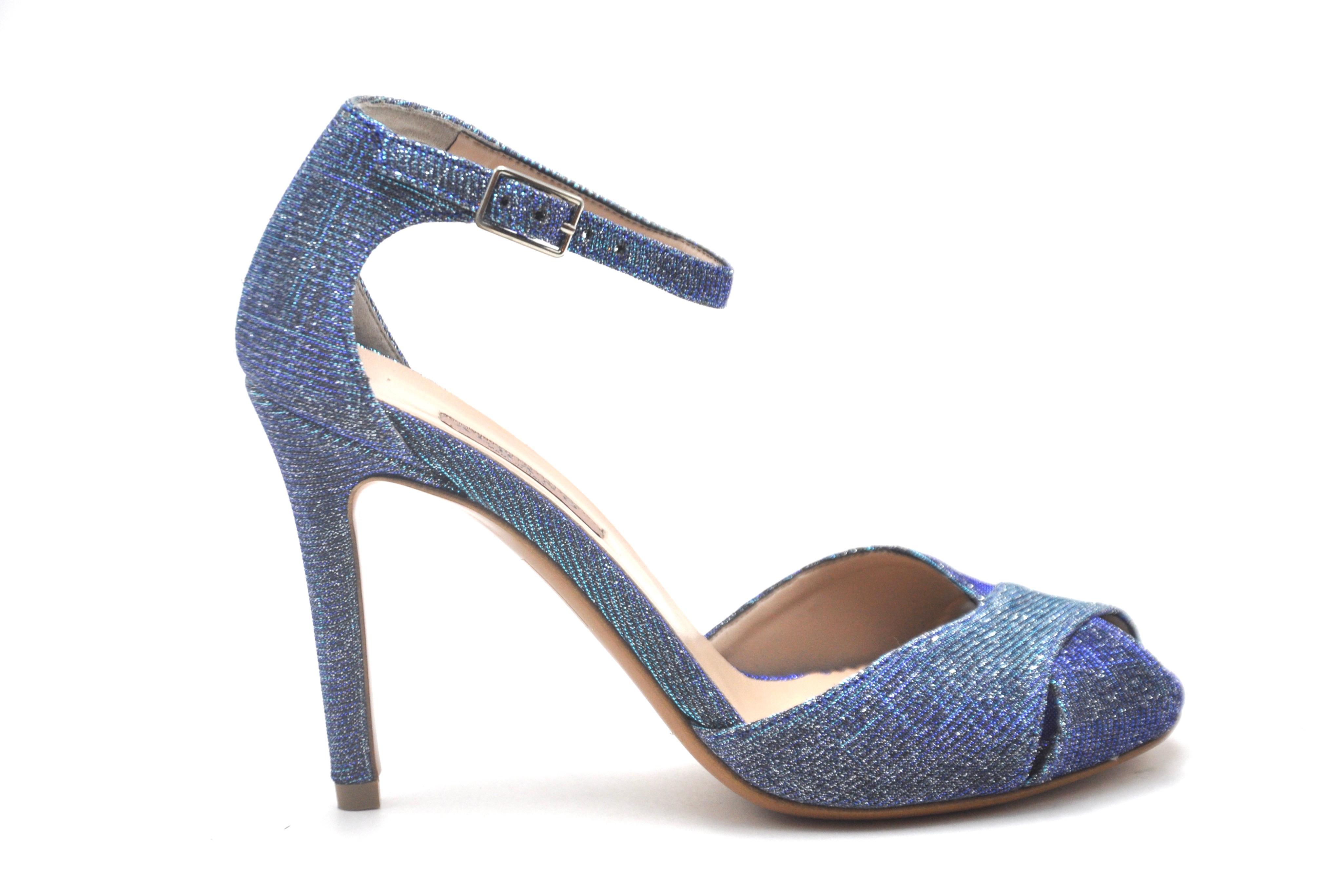 Sandali glitter blu ALBANO | Sandali | 4048NIGHTBLU