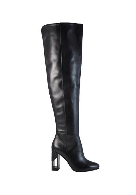 Stivale alto nero ALBANO | Stivali | 8031Q90ABNAPNERA