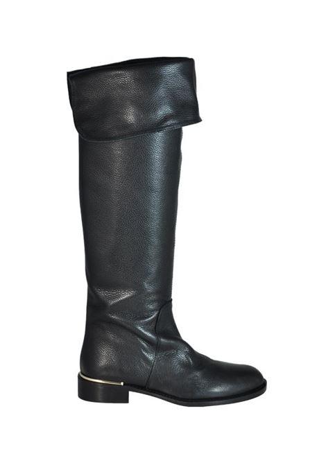 Stivali bottalati neri ALBANO | Stivali | 807BOTNERO