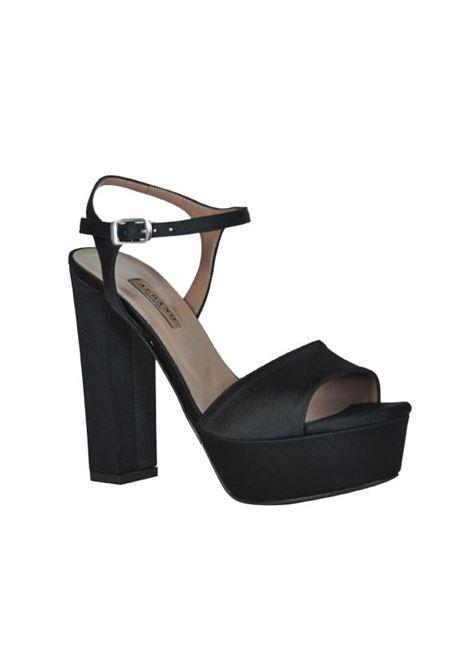 Sandalo in raso ALBANO | Sandali | 8127RASNERO