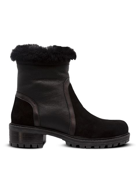 Tronchetto con pelliccia ALBANO | Boots | 1039CAMOSCIONERO