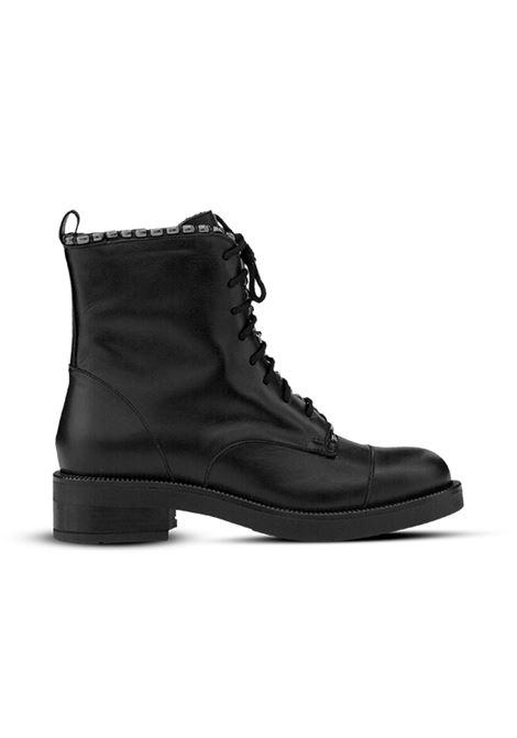 Anifibio nero con borchie ALBANO | Anfibi | 1133VITELLONERO